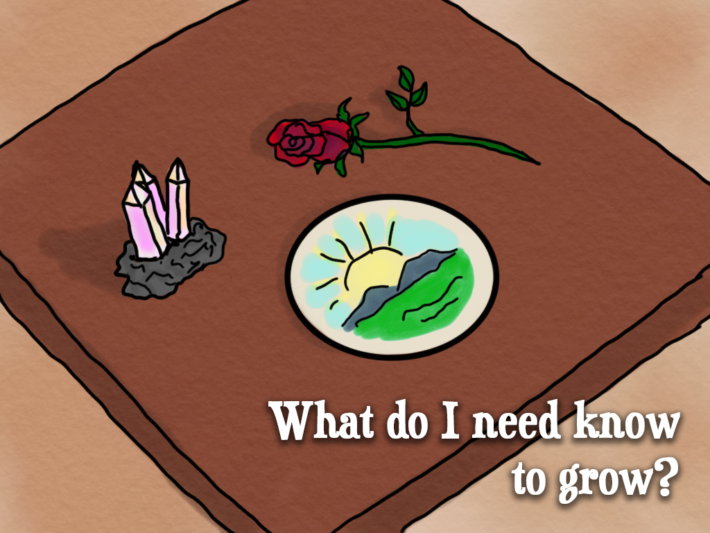 What do I need to know to grow? Hope's Heart Tarot™