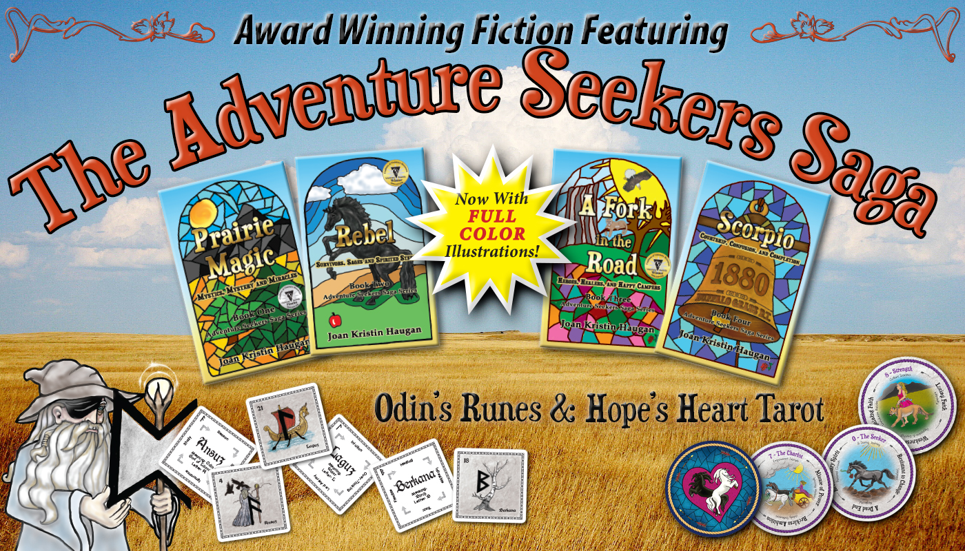 The Adventure Seekers Saga™ with Hope's Heart Tarot™ and Odin's Runes™